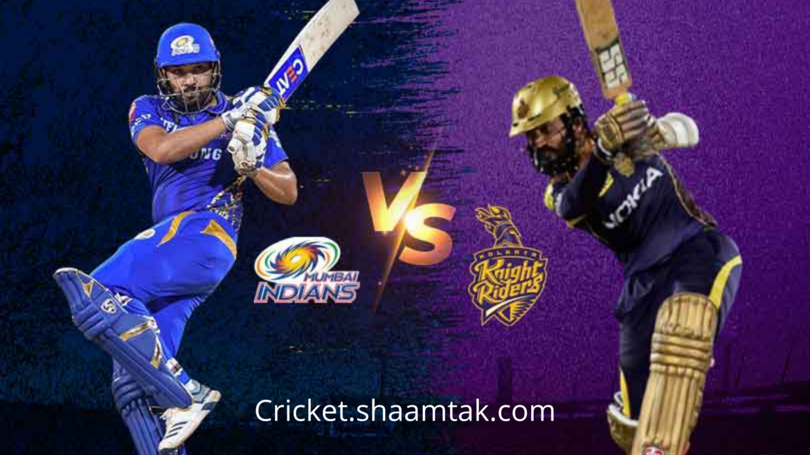 MI VS KKR : MATCH PREVIEW